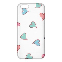 Colorful Random Hearts iPhone 6/6S TPU Case