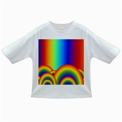 Background Rainbow Infant/Toddler T-Shirts