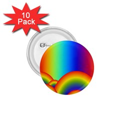 Background Rainbow 1.75  Buttons (10 pack)