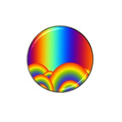 Background Rainbow Hat Clip Ball Marker (4 Pack)