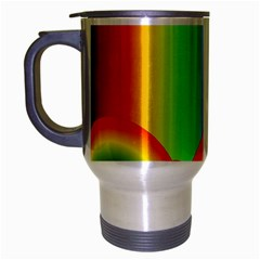 Background Rainbow Travel Mug (silver Gray)