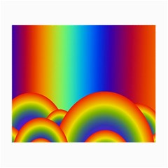 Background Rainbow Small Glasses Cloth