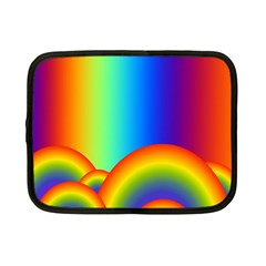 Background Rainbow Netbook Case (small)