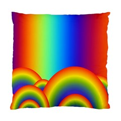 Background Rainbow Standard Cushion Case (Two Sides)
