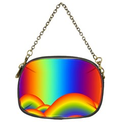 Background Rainbow Chain Purses (Two Sides)