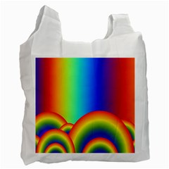 Background Rainbow Recycle Bag (two Side)