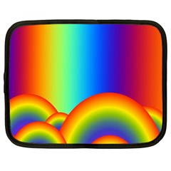 Background Rainbow Netbook Case (XXL)