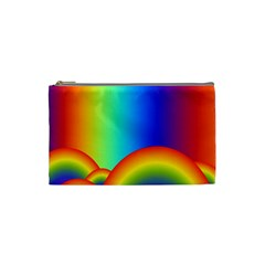 Background Rainbow Cosmetic Bag (small)
