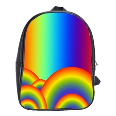 Background Rainbow School Bags(large)