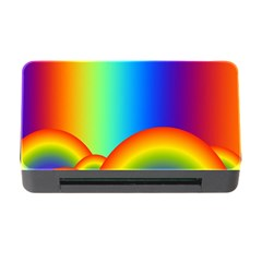 Background Rainbow Memory Card Reader with CF