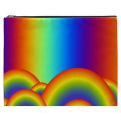 Background Rainbow Cosmetic Bag (xxxl)