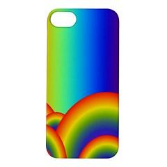 Background Rainbow Apple Iphone 5s/ Se Hardshell Case