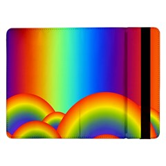 Background Rainbow Samsung Galaxy Tab Pro 12.2  Flip Case