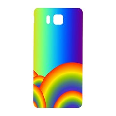 Background Rainbow Samsung Galaxy Alpha Hardshell Back Case