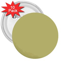 Fern Green in an English Country Garden 3  Buttons (10 pack)