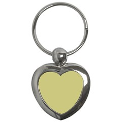 Fern Green in an English Country Garden Key Chains (Heart)