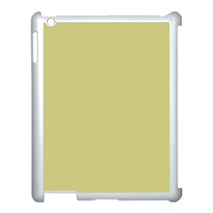 Fern Green in an English Country Garden Apple iPad 3/4 Case (White)
