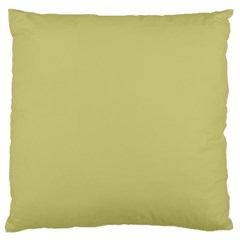 Fern Green in an English Country Garden Large Flano Cushion Case (Two Sides)