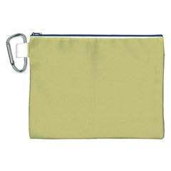 Fern Green in an English Country Garden Canvas Cosmetic Bag (XXL)