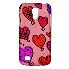 Valentine Wallpaper Whimsical Cartoon Pink Love Heart Wallpaper Design Galaxy S4 Mini