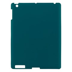 Forget Me Not Blue in an English Country Garden Apple iPad 3/4 Hardshell Case