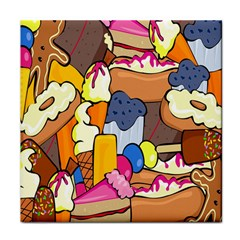 Sweet Stuff Digitally Food Tile Coasters