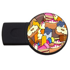 Sweet Stuff Digitally Food Usb Flash Drive Round (2 Gb)