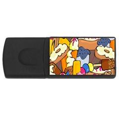 Sweet Stuff Digitally Food USB Flash Drive Rectangular (1 GB)