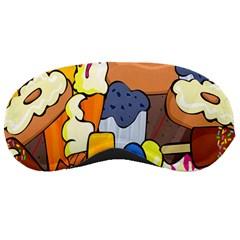 Sweet Stuff Digitally Food Sleeping Masks