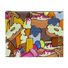 Sweet Stuff Digitally Food Cosmetic Bag (XL)