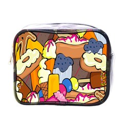 Sweet Stuff Digitally Food Mini Toiletries Bags
