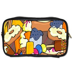 Sweet Stuff Digitally Food Toiletries Bags 2-Side