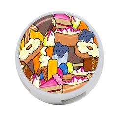 Sweet Stuff Digitally Food 4-Port USB Hub (Two Sides)