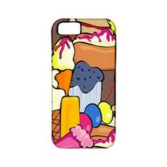 Sweet Stuff Digitally Food Apple Iphone 5 Classic Hardshell Case (pc+silicone)