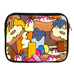 Sweet Stuff Digitally Food Apple iPad 2/3/4 Zipper Cases