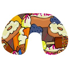 Sweet Stuff Digitally Food Travel Neck Pillows