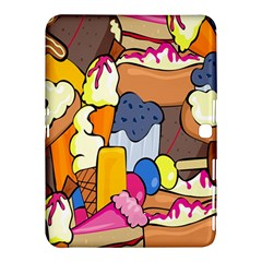 Sweet Stuff Digitally Food Samsung Galaxy Tab 4 (10.1 ) Hardshell Case