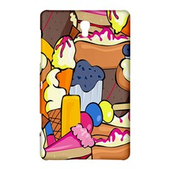 Sweet Stuff Digitally Food Samsung Galaxy Tab S (8 4 ) Hardshell Case