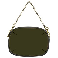 Garden Boot Green in an English Country Garden Chain Purses (One Side)