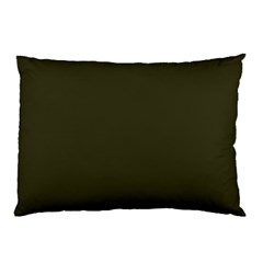 Garden Boot Green in an English Country Garden Pillow Case (Two Sides)