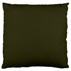 Garden Boot Green in an English Country Garden Large Cushion Case (One Side)