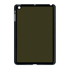 Garden Boot Green in an English Country Garden Apple iPad Mini Case (Black)