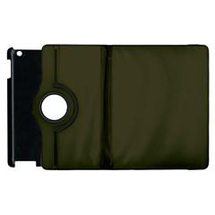 Garden Boot Green in an English Country Garden Apple iPad 2 Flip 360 Case