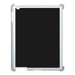 Garden Sludge Grey in an English Country Garden Apple iPad 3/4 Case (White)