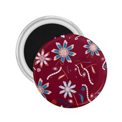 Floral Seamless Pattern Vector 2.25  Magnets
