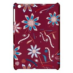 Floral Seamless Pattern Vector Apple Ipad Mini Hardshell Case