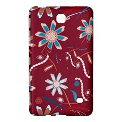 Floral Seamless Pattern Vector Samsung Galaxy Tab 4 (7 ) Hardshell Case