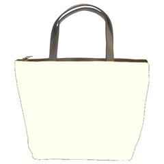 Gardenia Cream in an English Country Garden Bucket Bags