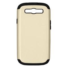 Gardenia Cream in an English Country Garden Samsung Galaxy S III Hardshell Case (PC+Silicone)
