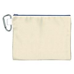 Gardenia Cream in an English Country Garden Canvas Cosmetic Bag (XXL)